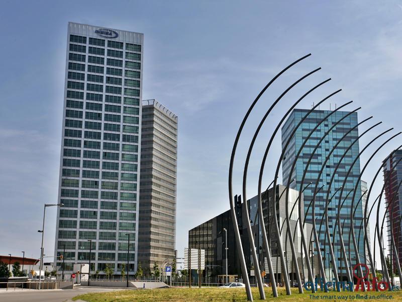 Edificio Torre Inbisa, Plaça Europa 11,Plantas 3-C y 4-C