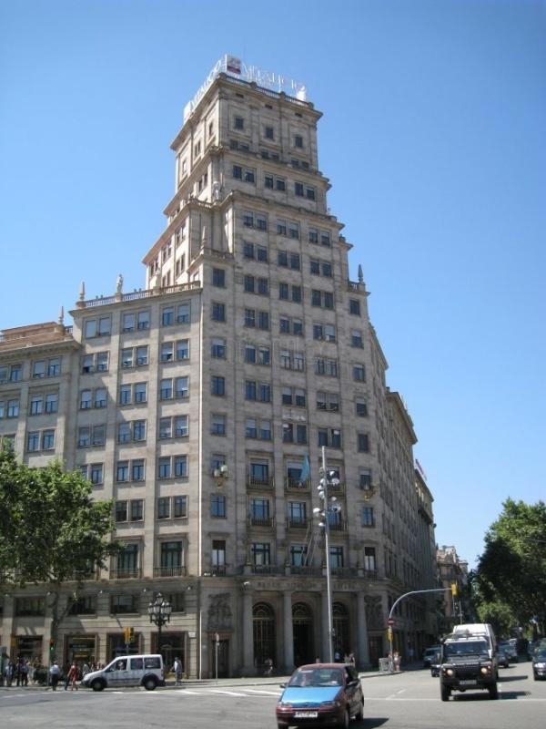 Barcelona-Centro, Edificio Vitalicio, Planta Primera