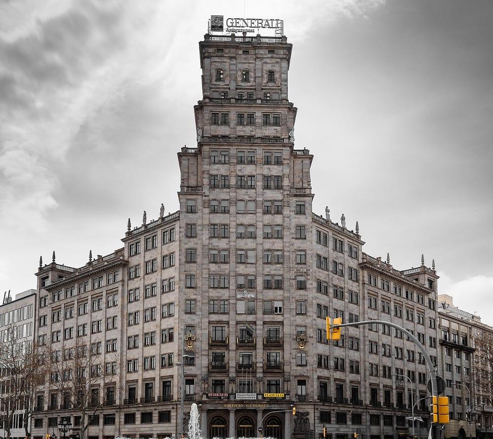 Barcelona-Centro, Edificio Vitalicio, Planta Quinta