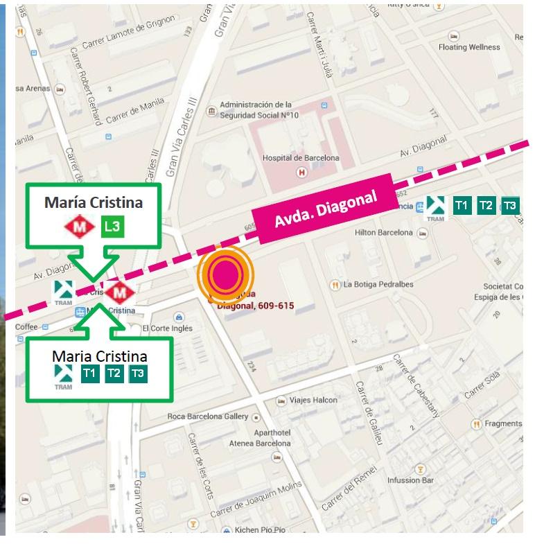Barcelona edificio dau avenida diagonal 609 planta 2 expertos inmobiliarios - Oficinas el corte ingles barcelona ...